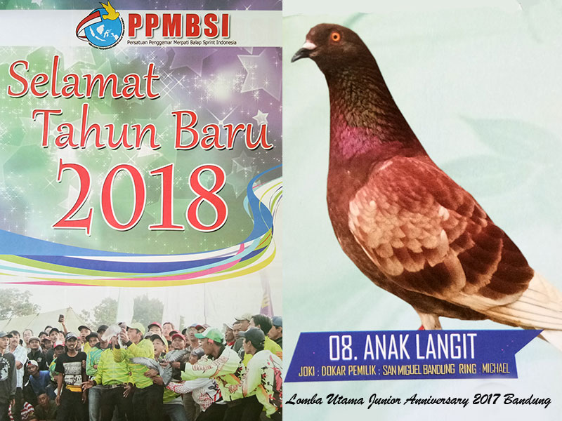 Anak Langit masuk Kalender PPMBSI 2018